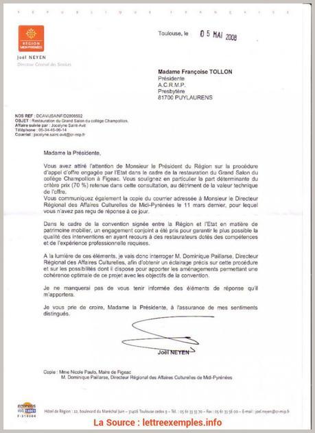 Bien Exemple Lettre De Candidature Appel D Offre Lettre De ...