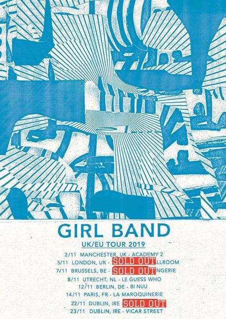 Girl Band - Fontaines D.C. au Botanique - Bruxelles, le 7 novembre 2019