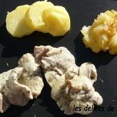 Emincé de veau pommes et Calvados - Le blog de lesdelicesdethithoad