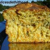 cake à la carotte et au boursin - Le blog de lesdelicesdethithoad