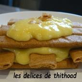 mille feuilles de Gavottes à la crème de citron - Le blog de lesdelicesdethithoad