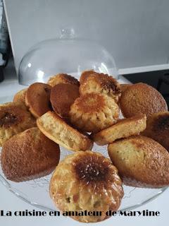 Gâteau allégé au citron et céréales nature
