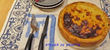 Flan Pâtissier, recette du chef Christophe Felder