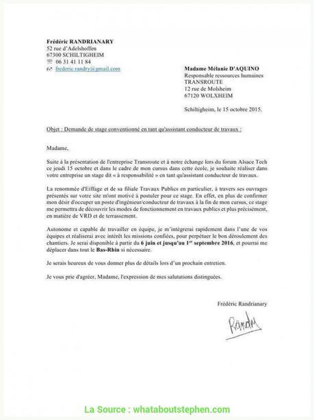 Idéal Lettre De Motivation Chauffeur Poids Lourd Travaux ...