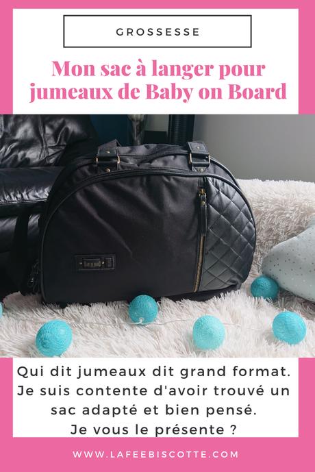 Mon sac à langer pour jumeaux de Baby on Board