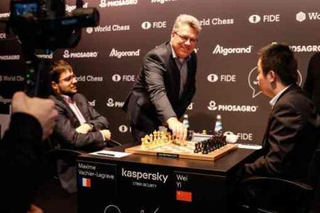 MVL au Grand Prix FIDE 2019 à Hambourg - Photo © site officiel