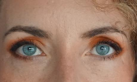 Un maquillage relevé, avec la Gingerbread Spicy Palette