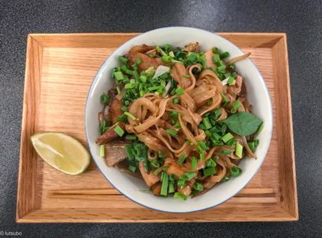 Mon wok Vietnamien – Nouille Pho sautées au seitan et aux herbes