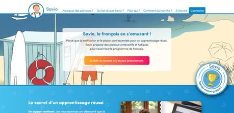 Savio, apprendre le français en s'amusant avec des jeux numériques