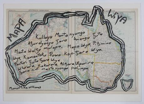 """Mapa Wiya"", une exposition d'art aborigène à la Menil Collection, Houston, Texas"