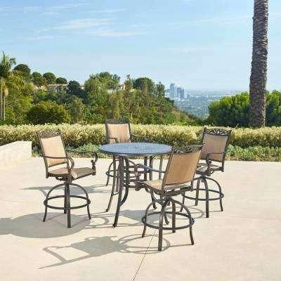 bar height outdoor tables estate 5 piece aluminum outdoor bar height dining set white outdoor bar height table and chairs