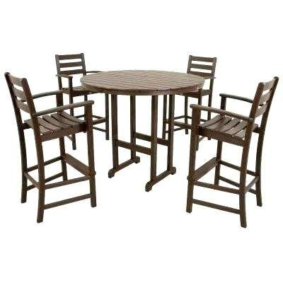 bar height outdoor tables bay vintage lantern 5 piece patio bar set bar height outdoor table cover