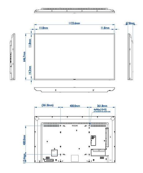 Philips 50BDL3050Q : un superbe écran 4K Direct LED pour l'affichage dynamique