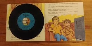 Livre-disque – Alf arrive sur Terre raconté par Roger Carel