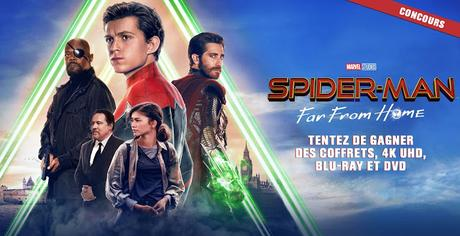 [CONCOURS] : Gagnez votre DVD ou Blu-ray™ du film Spider-Man : Far From Home !