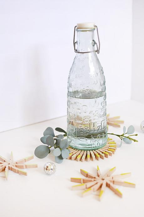 diy slow living sous verre pince linge style scandinave upcycling - blog deco - clem around the corner