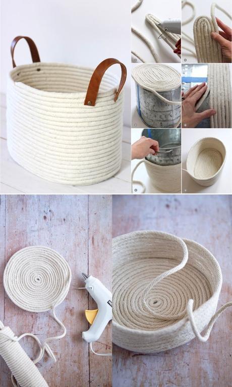 diy slow living panier corde sans couture - blog déco - clem around the corner