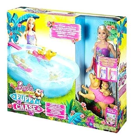 barbie swimming pup pool barbie swimming pup pool doll