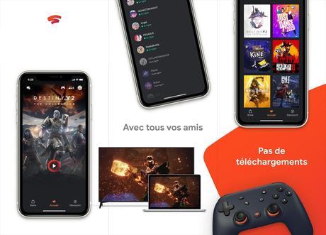 Jeux vidéo en streaming : Google Stadia disponible sur iPhone !