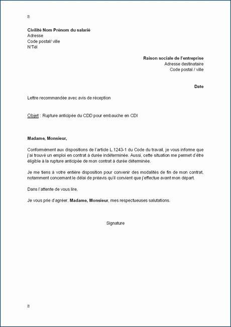 Exemple De Lettre De Motivation Pour Un Emploi Dans Une ...