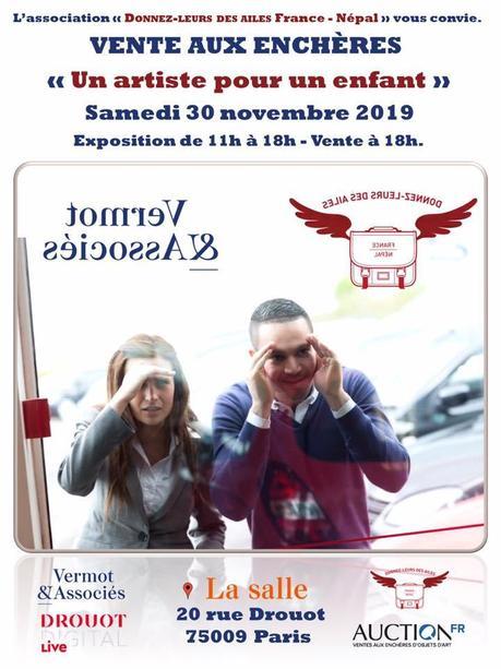 Vente aux enchères à Drouot le 30 novembre