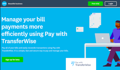 Xero – Pay with TransferWise