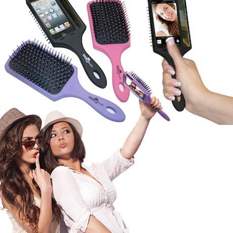 iPhone brosse à cheveux