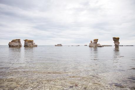 Un peu de nous ici, avant que l'hiver nous enivre... L'archipel de Mingan, Côte-Nord.