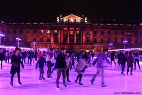 La patinoire de Somerset House