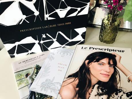 Le récap' de la box Prescription Lab X Elise Tsikis