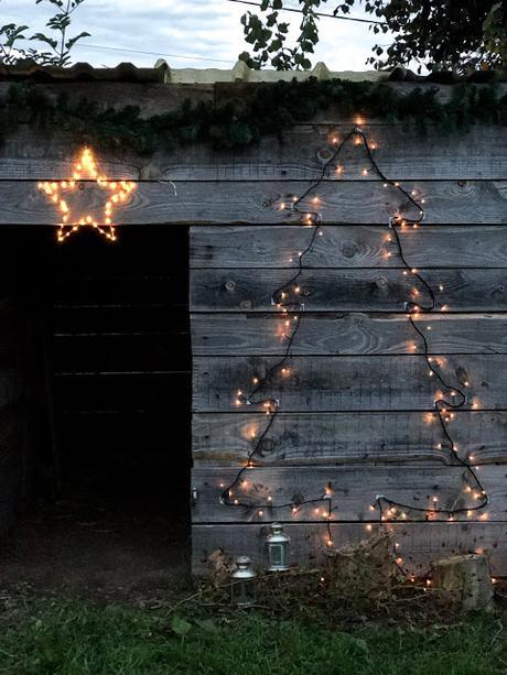 Décorations de Noël extérieures sans clou