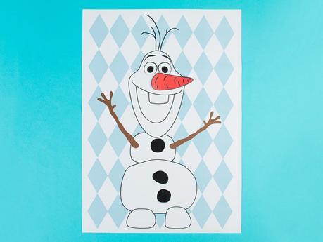 diy reine des neiges Pin Olaf