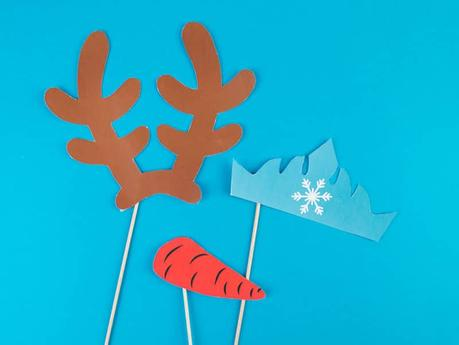 DIY reine des neige pour photobooth