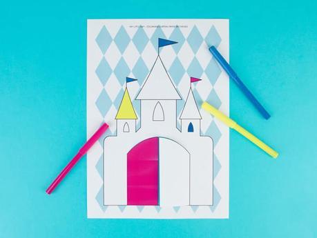 coloriage anniversaire reine des neiges