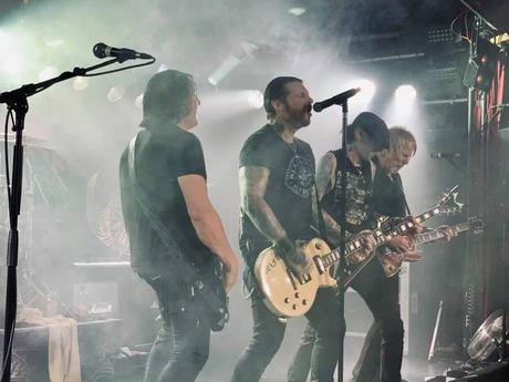 Black Star Riders at Colos Saal in Aschaffenburg on 15 November 2019