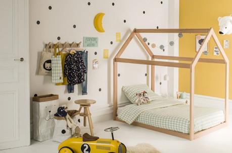 Une chambre d'enfant ludique et écologique