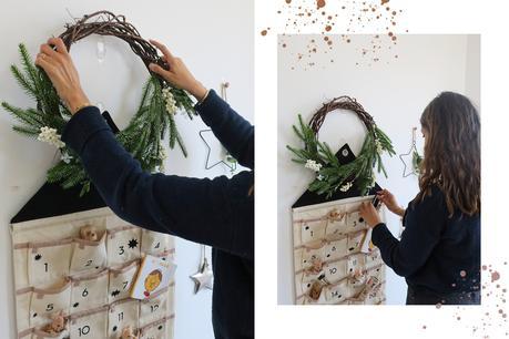 décoration noël calendrier de l'avent
