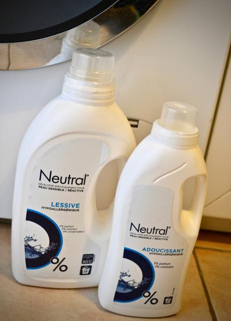NEUTRAL : des produits ménagers écolabellisés pour les peaux sensibles