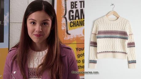 HIGH SCHOOL MUSICAL THE MUSICAL THE SERIES : Nini's cropped sweater in S1E01