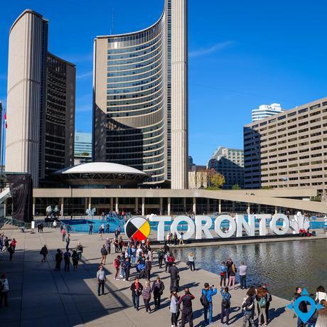 visiter Toronto city hall