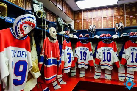 vestiaire Canadiens de Montréal