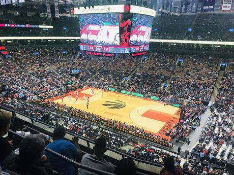 NBA match Toronto Raptors