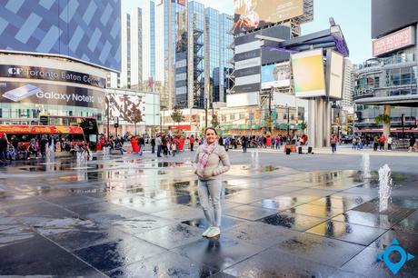 Visiter Toronto Times Square