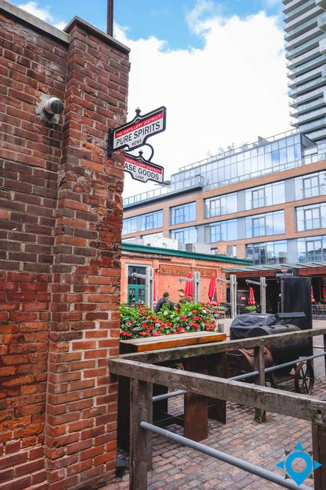 distillery district visiter Toronto