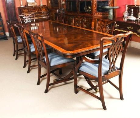 8 chair dining table 8 seater dining table and chair sets