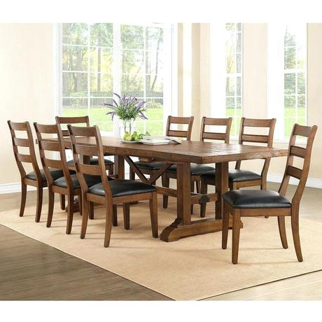8 chair dining table 8 chair round dining table set