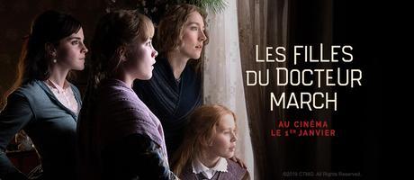 """FILLES DOCTEUR MARCH (LITTLE WOMEN) avec """"gros"""" casting cinéma janvier 2020"""