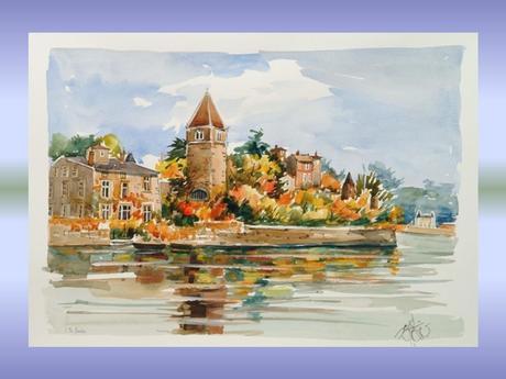 Divers - Lyon en aquarelle