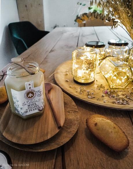 DIY : Réaliser une guirlande lumineuse avec des pots de miel récyclés