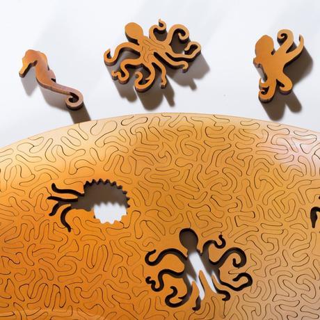 Nervous System dévoile des puzzles en forme de fossiles